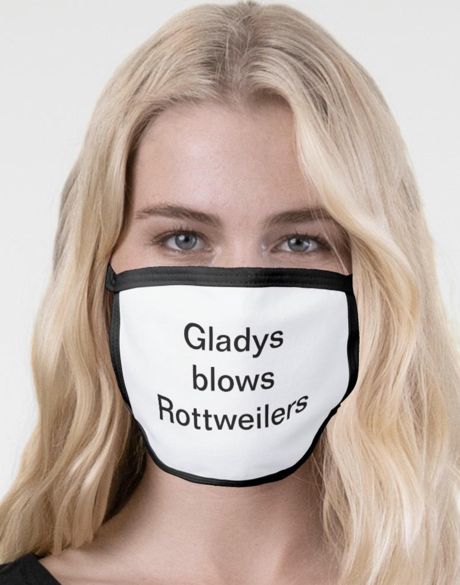 Gladys blows rottweilers