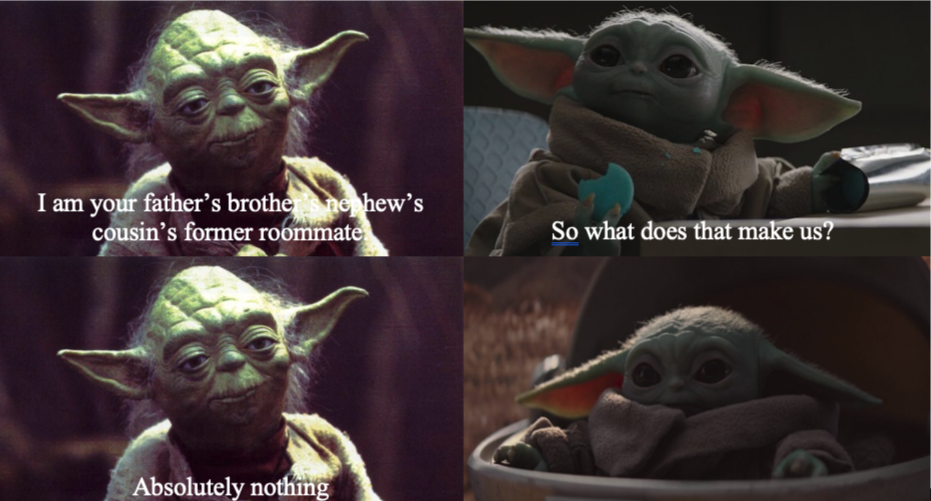 Baby yoda I am your father