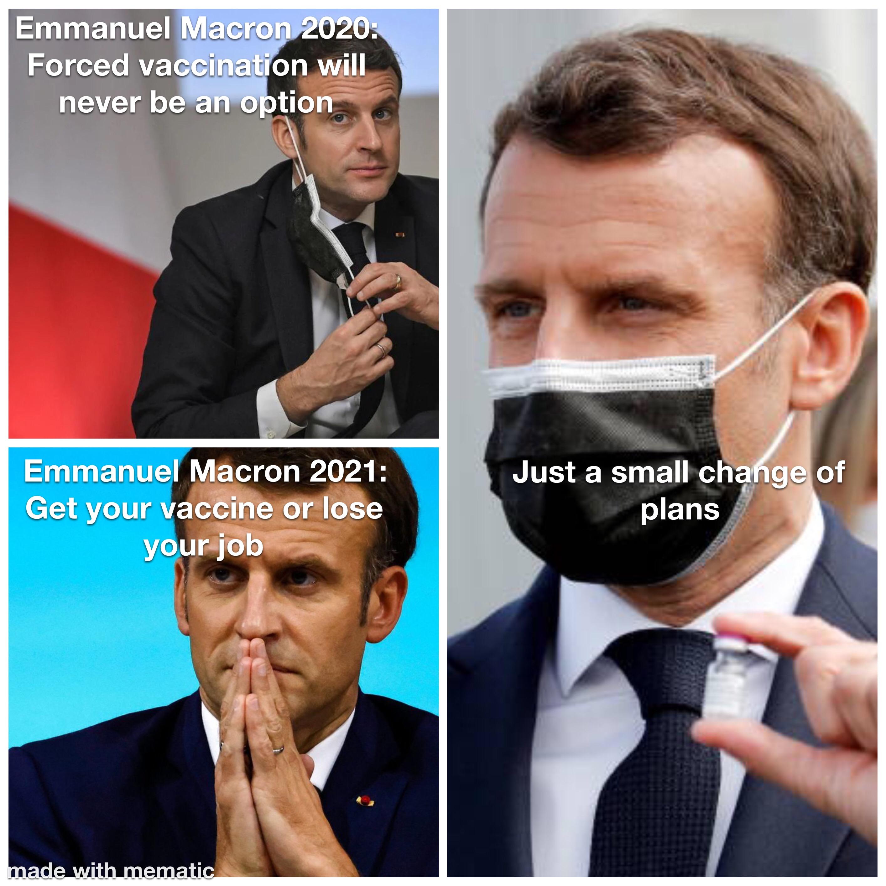 Macron vs. Macron